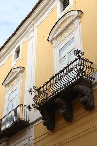 Palazzo Lanza - Balconi