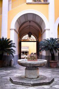 Palazzo Lanza - Cortile