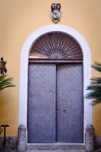 Palazzo Lanza - Portone