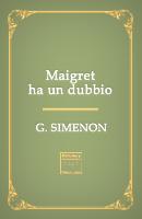 Maigret ha un dubbio